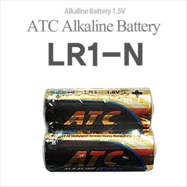 ATC LR1-N(2알) 알카라인건전지 1.5V LR1(N)