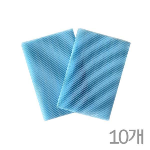 국산 3D망사수세미2P(소)10개 풍부한거품빠른건조