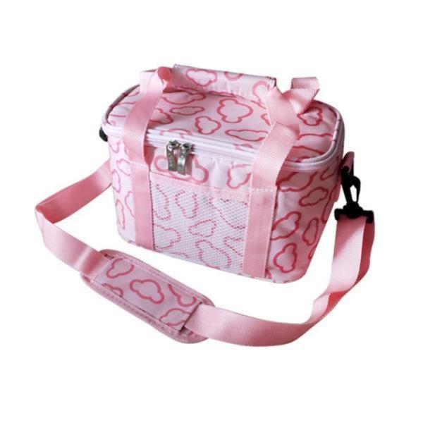 DF 고급핑크쿨러백(5L) 보온가방 보냉가방 쿨러가방