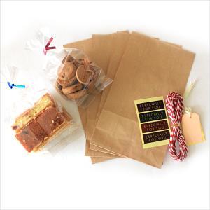(8584)쿠키종이봉투세트(4매) 베이킹포장세트