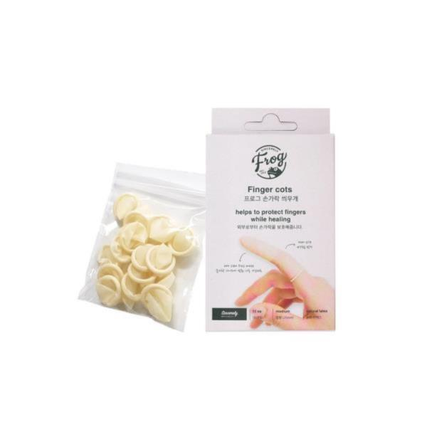 FROG 라텍스 손가락씌우개(15개) 고무골무 손가락골무