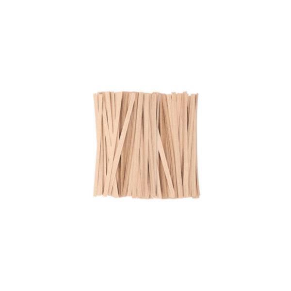 DF 크라프트빵끈(10cm 약1000개) 종이빵끈 무지빵끈