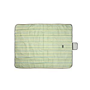 DF 스트라이프 그린 방수돗자리(대형) 180x150cm
