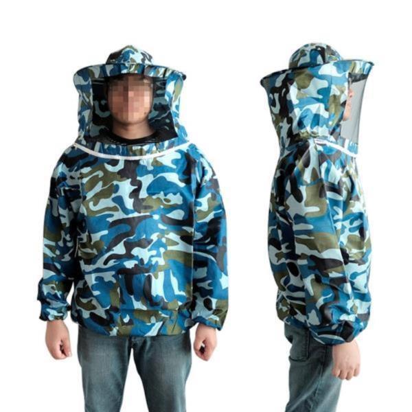 DF 밀리터리 양봉옷(상의) 벌망옷 벌초복 벌초옷