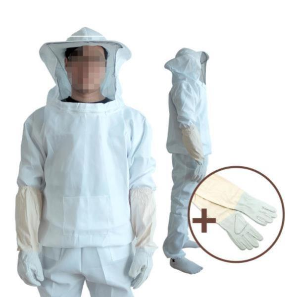 DF 면 양봉옷(상하의+양봉장갑) 벌망옷 벌초복 벌초옷