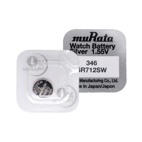 무라타 346(SR712SW)(1알) 시계건전지 1.55V