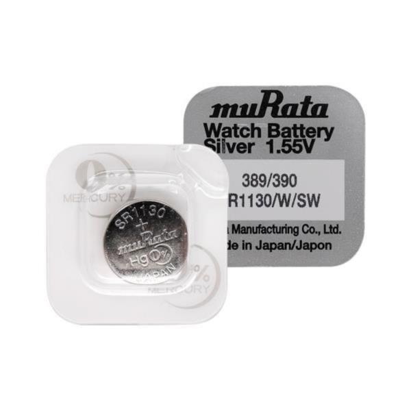 무라타 SR1130(389/390)(1알) 시계건전지 1.55V