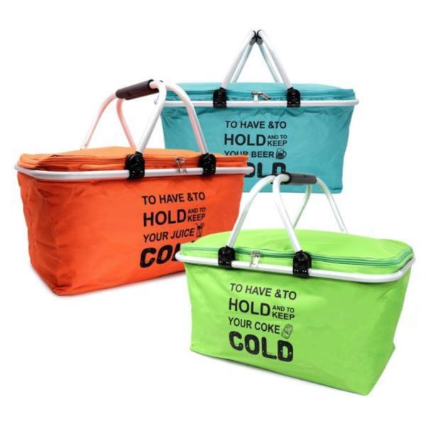 DF감성캠핑쿨러바구니(32L) 보온가방 쿨러백 쿨러가방