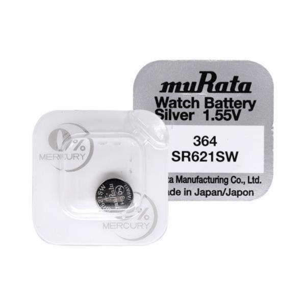 무라타 364(SR621SW)(1알) 시계건전지 1.55V