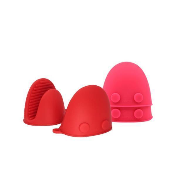 DF 실리콘냄비장갑(레드/핑크) 내열장갑 실리콘장갑