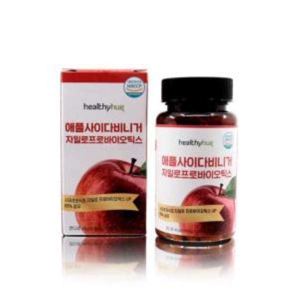 애플사이다비니거(500mgx90정) 사과초모식초 유산균