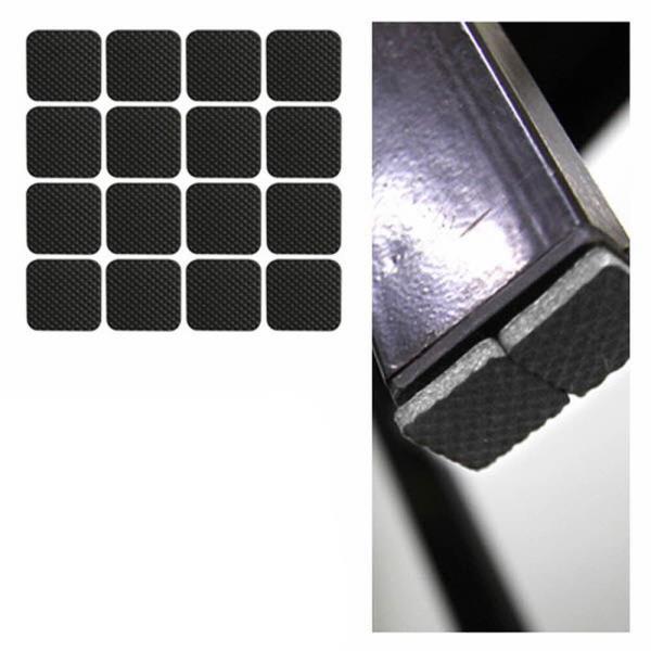 소음방지패드 에바 사각 소 블랙 32P 20x20