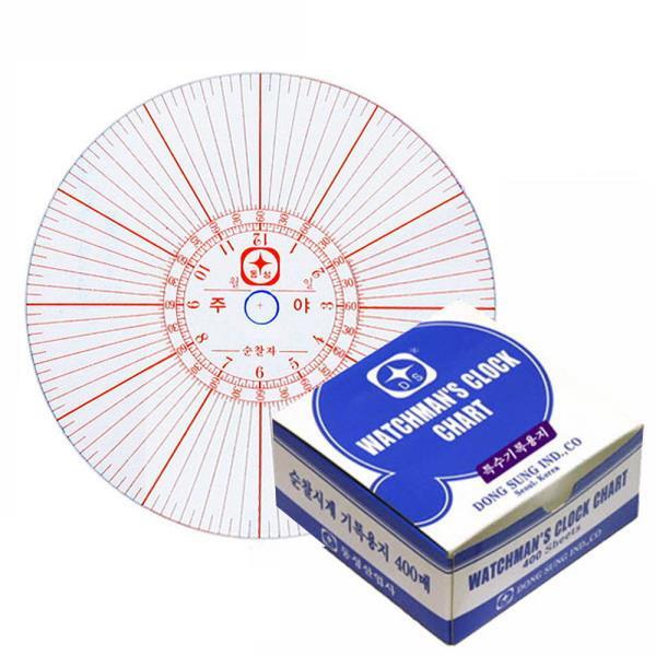 순찰기계용지 특수용지 DS-3500/PL-365N 400매박스 택1