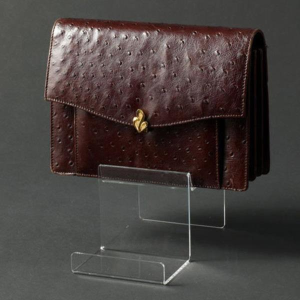 아크릴 상품진열대 핸드백 진열대 2단