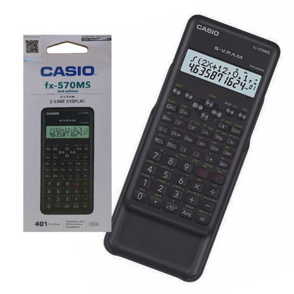 카시오 2라인 공학용 전자계산기 S-V PAM 570MS