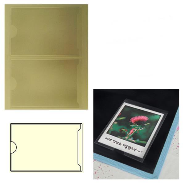 주머니형 포켓 라벨테이프 폴라로이드사진 2P 30매