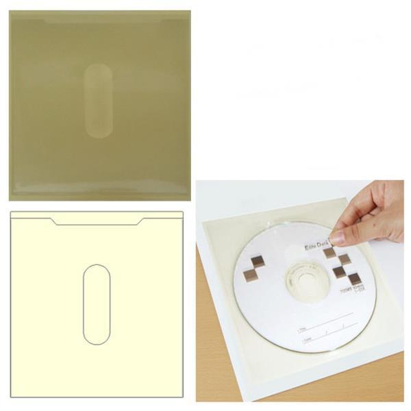 주머니형 포켓 라벨테이프 CD케이스 30매