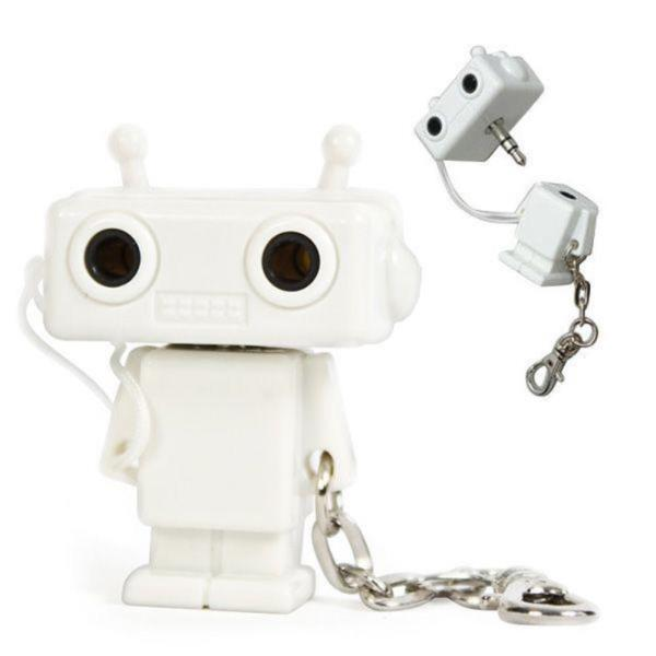 2in1 로봇 커플이어폰 분배기 공유기