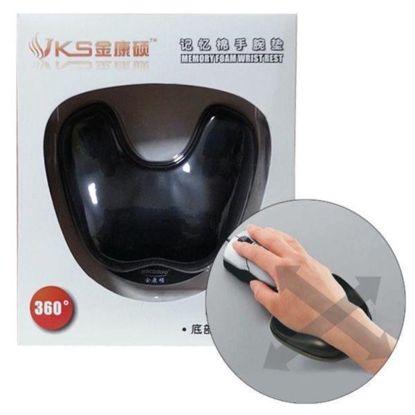 360도 자유이동 손목보호 마우스패드