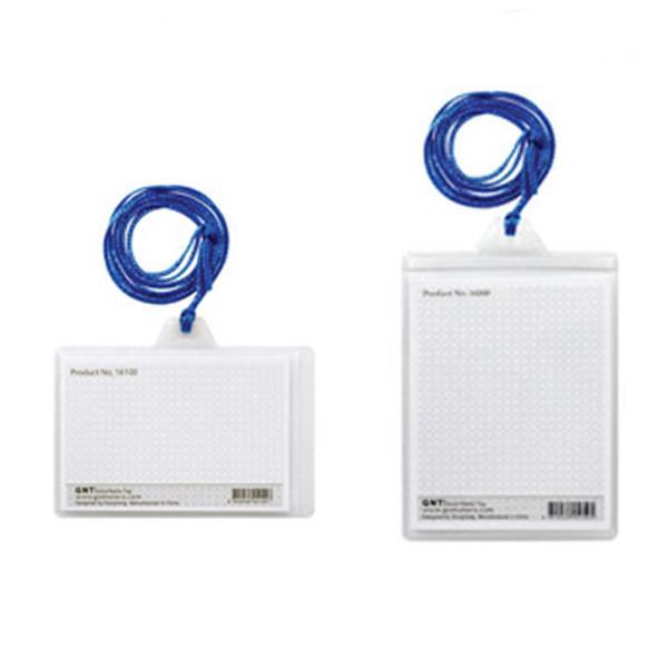 GNT명찰 보급형 소형 목걸이명찰 100매