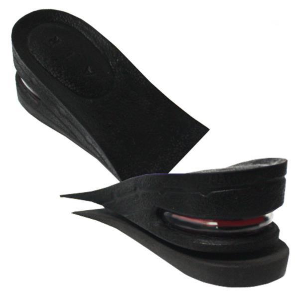 에어캡 키높이 2단분리 반깔창 5cm 블랙