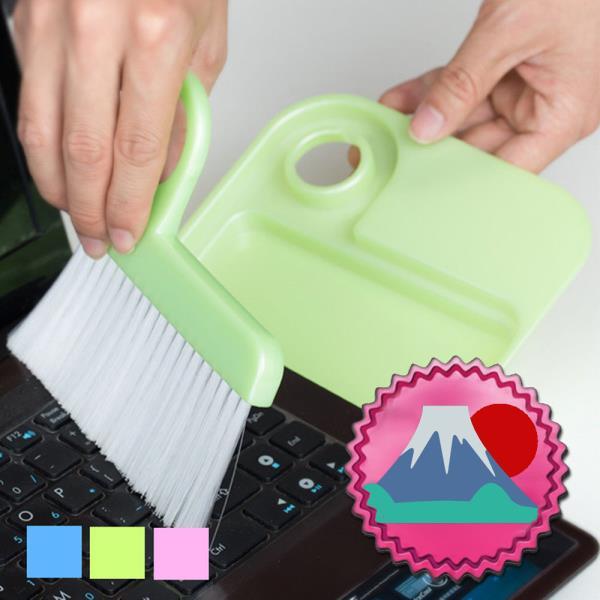 일본마트상품 책상용 미니 쓰레받이 빗자루