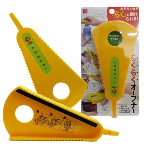 일본마트상품 잼통오프너 캔 페트병 따개