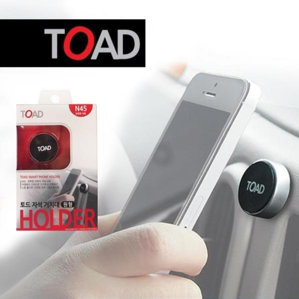 토드342 전기종 스마트폰 차량거치대 자석원형