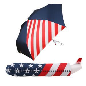 아이디어 비행기 3단 수동접이식 우산
