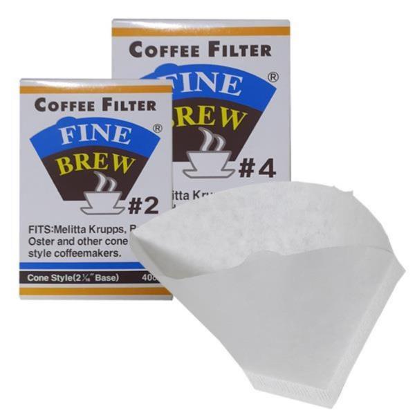 파인브루 드리퍼 메이커용 커피필터 40매