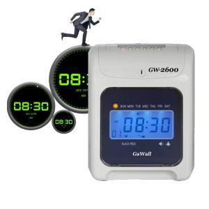 디지털시계 출퇴근기록기 GAWALL 2600