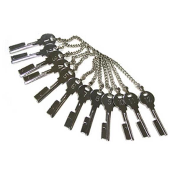 순찰열쇠 12개 순찰기계용 키세트
