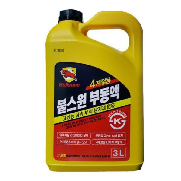 불스원 부식방지 대용량 4계절부동액 3L