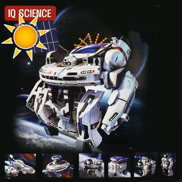 태양광 로봇 우주함대 7단변신 조립장난감