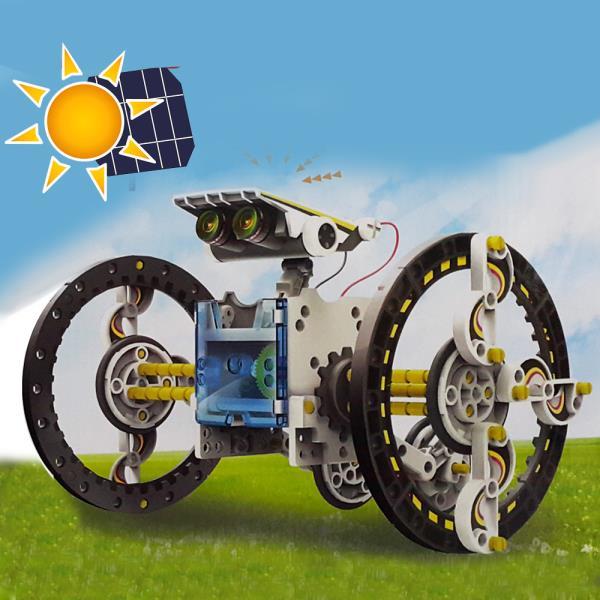 태양광 14종 변신 로보트 조립장난감