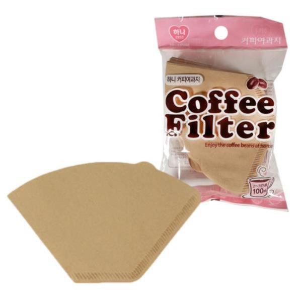 하니 커피여과지 2호 2-5인용 100매