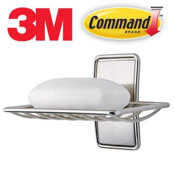 3M 코멘드 고급 니켈메탈 비누받침대