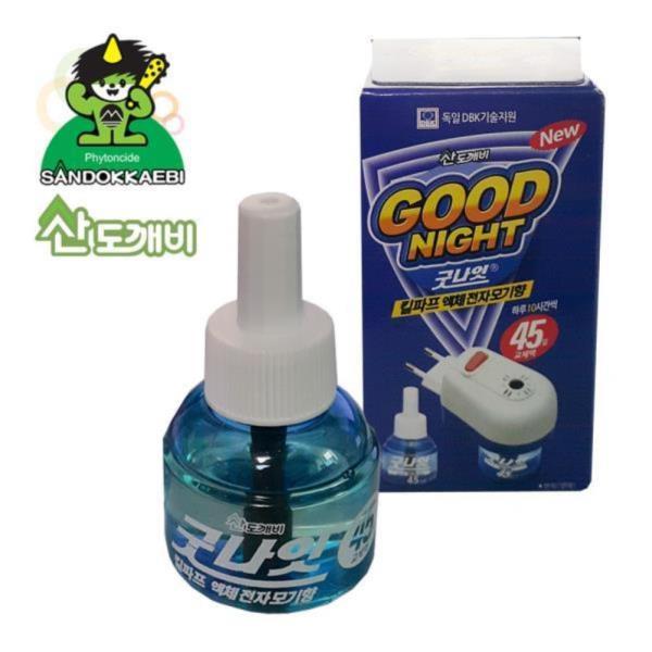 굿나잇킬파프 액체전자모기향 리필45일분 1병