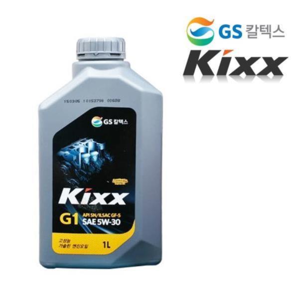 GS칼텍스 킥스5W-30 고성능 가솔린엔진오일 1L