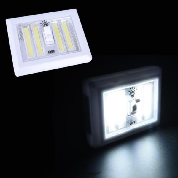 LED 코드없는 비상등 온오프 스위치 COB