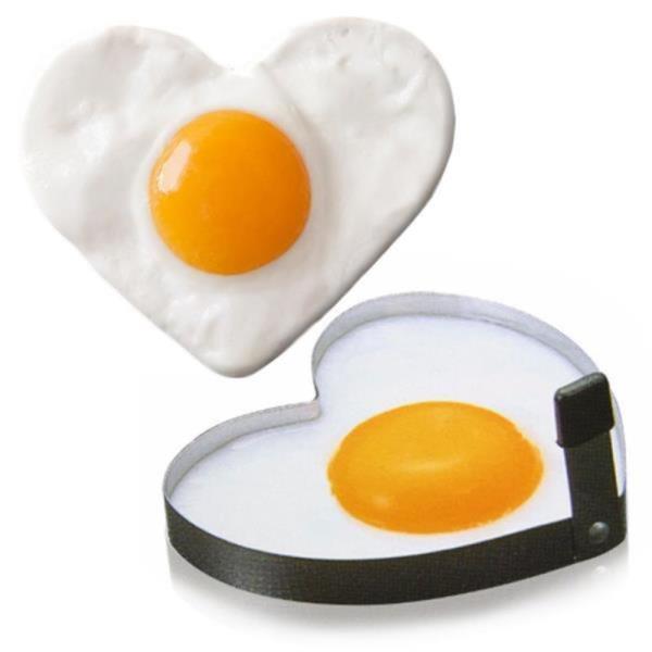 스테인레스 하트 달걀후라이 모양틀