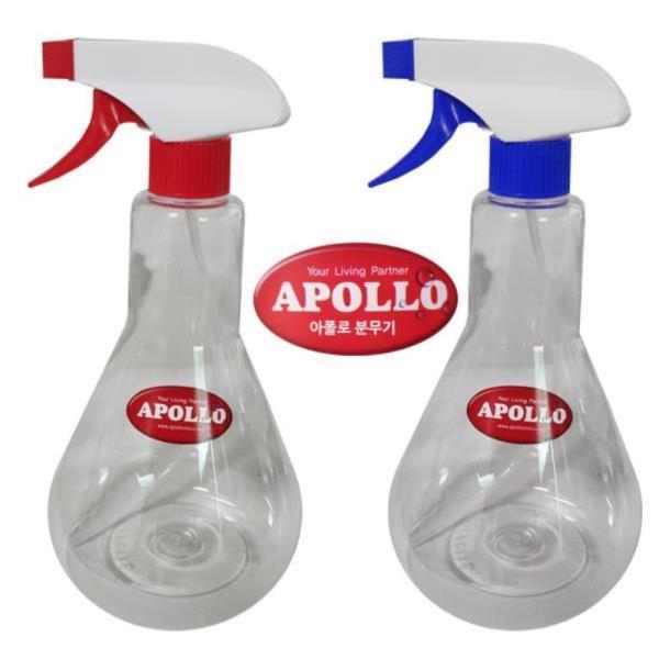 아폴로652 흰투명 분무기 650ml 스프레이