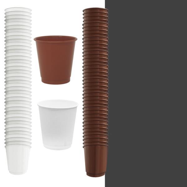 자판기컵 사이즈 다회용 플라스틱컵 40개
