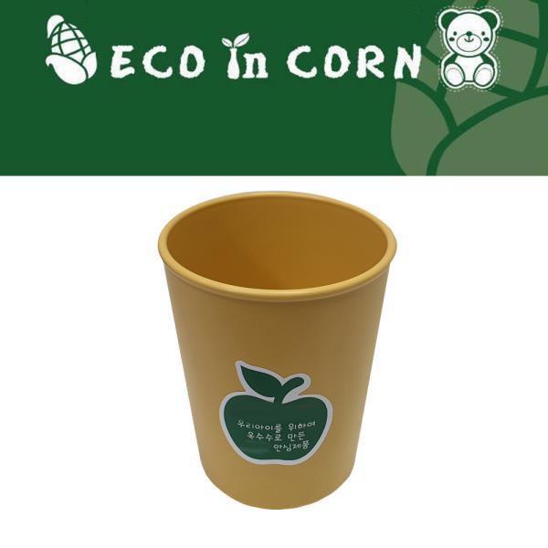 물잔 옥수수 환경식기 심플 원형 물컵
