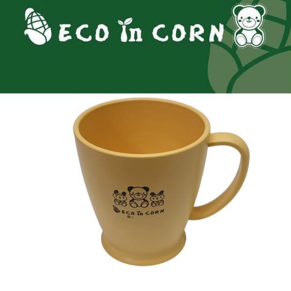 옥수수 환경식기 손잡이 물컵