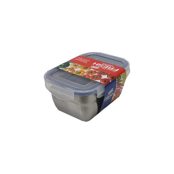 싱싱락 스텐 밀폐용기 1호 소형 0.5L