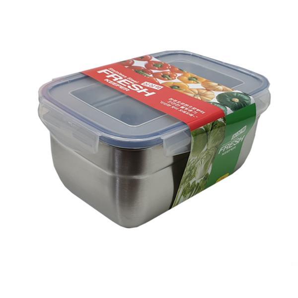 싱싱락 스텐 밀폐용기 4호 대형 3.2L