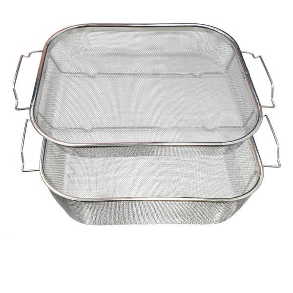 대흥 사각 양수 메쉬 망바구니 2종