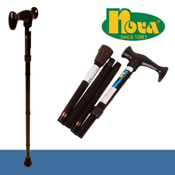 노바3020 휴대가 편한 접이식 노인지팡이