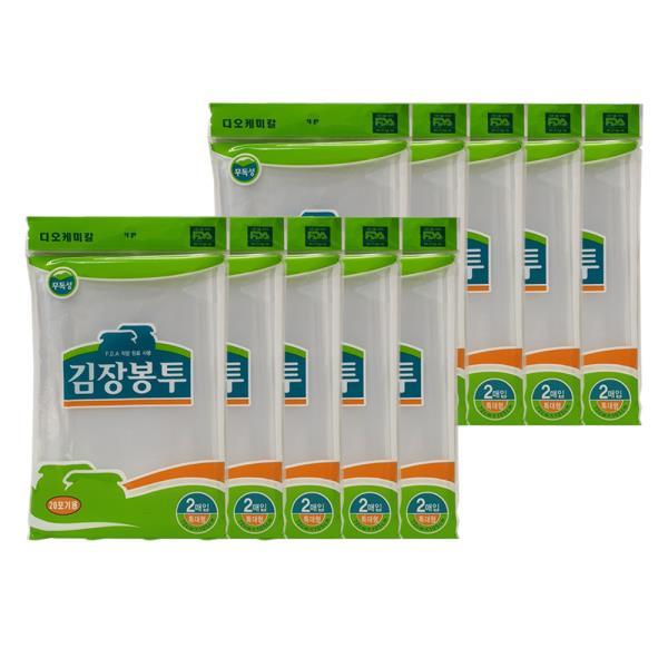 DO 김장봉투 비닐 특대20매 72x105cm
